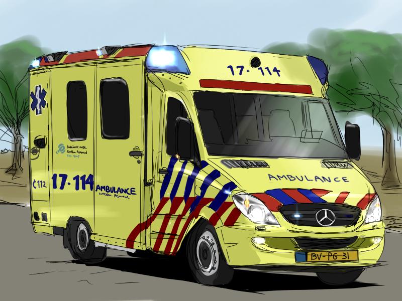 オランダの救急車