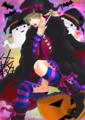 【女装注意】ハロウィン絵!
