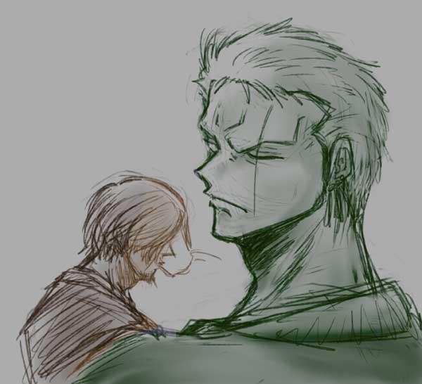 ゾロとサンジ