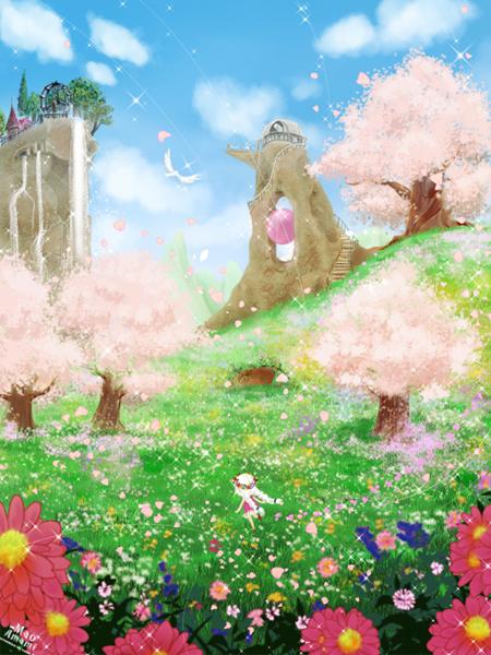 マジョ子、春を満喫する。