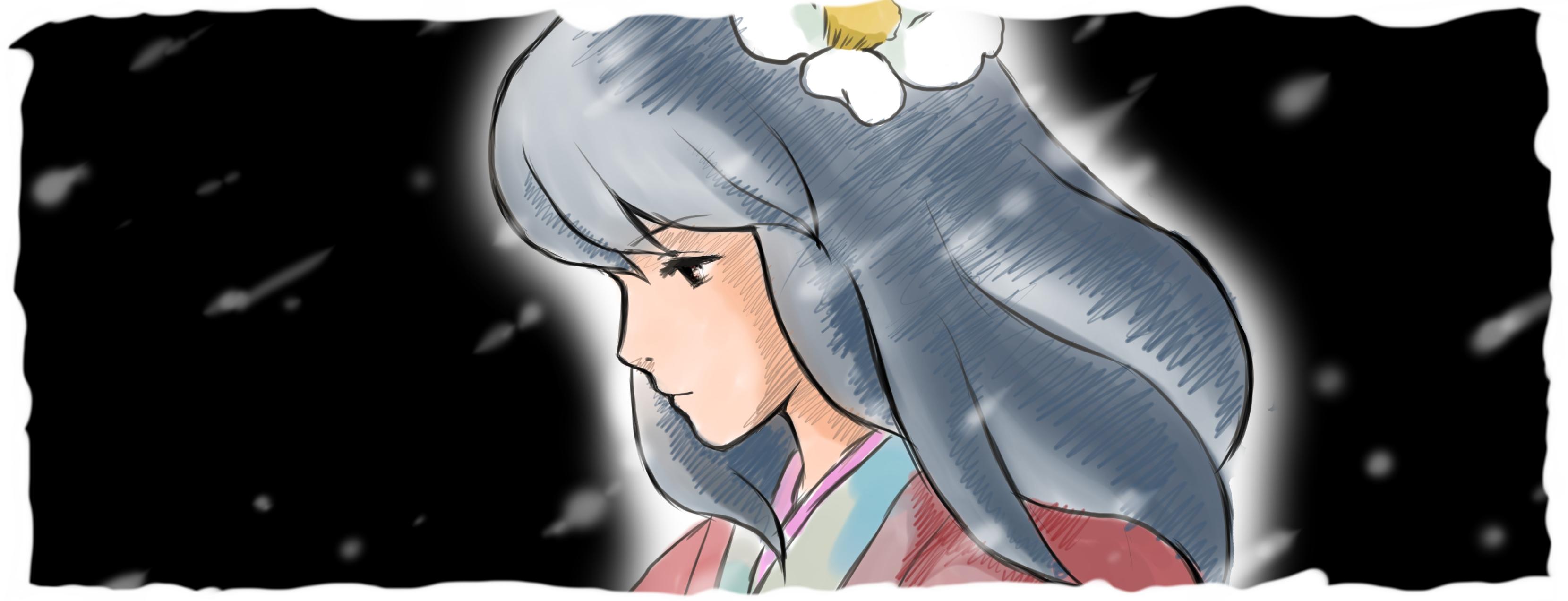 菜穂子模写