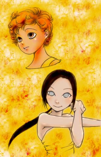 愛羅とリナ