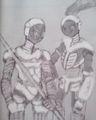 メタルウーム兵士
