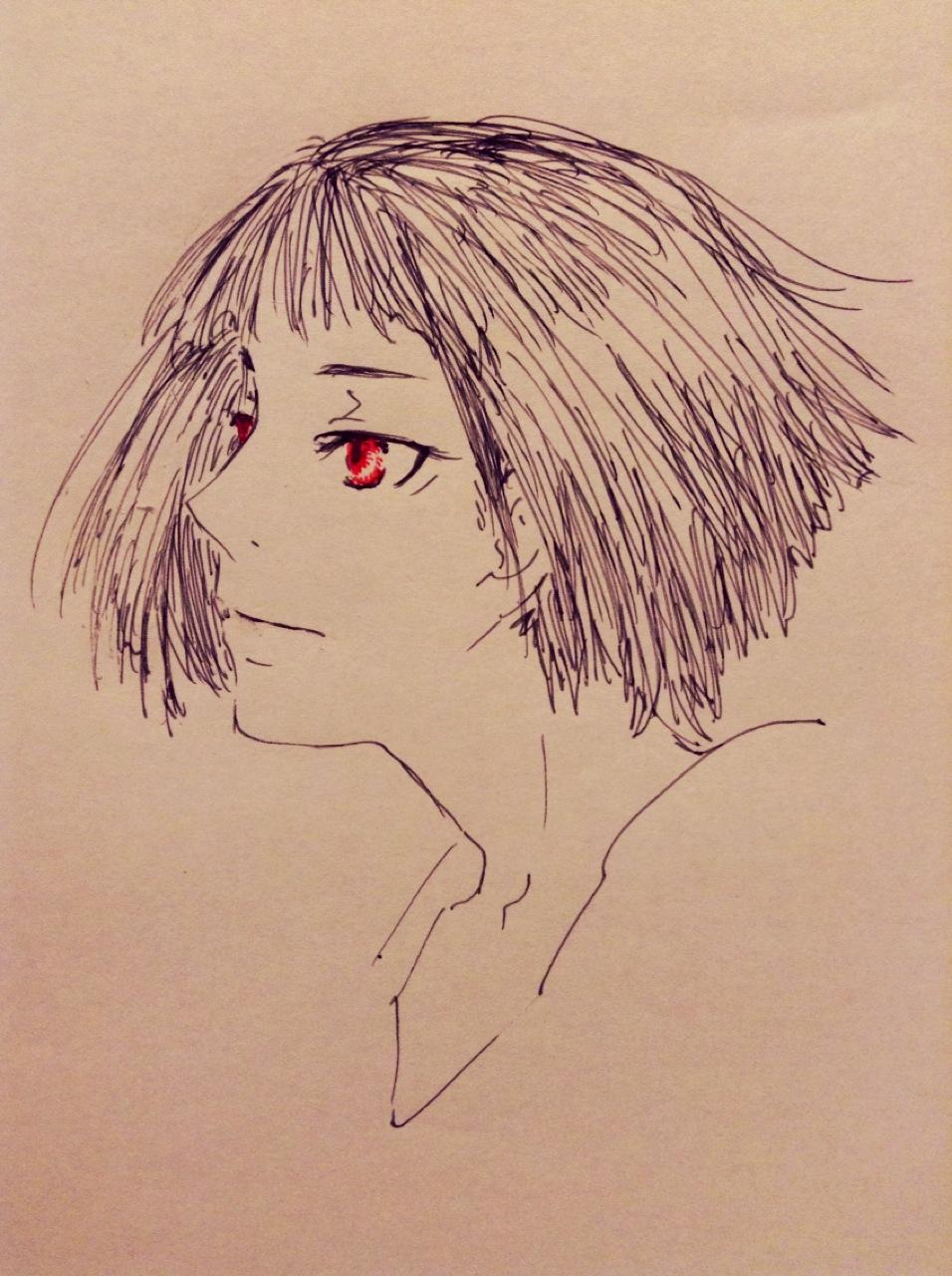 赤い瞳の桜火竜