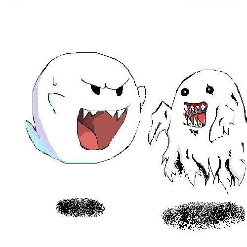 テレサとバケモン