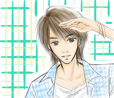 浜尾京介くん(13)