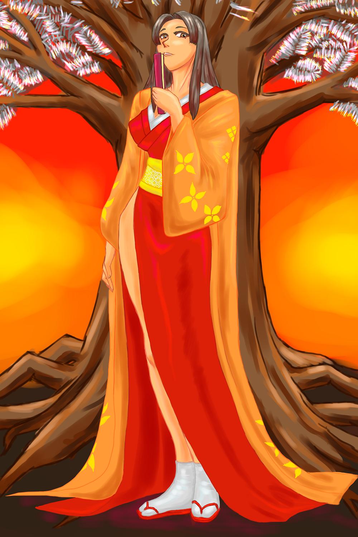 刀葉林のお姫様…?