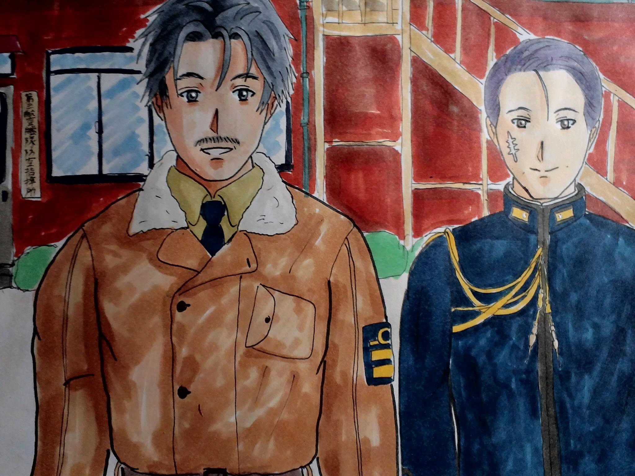 司令長官と参謀長