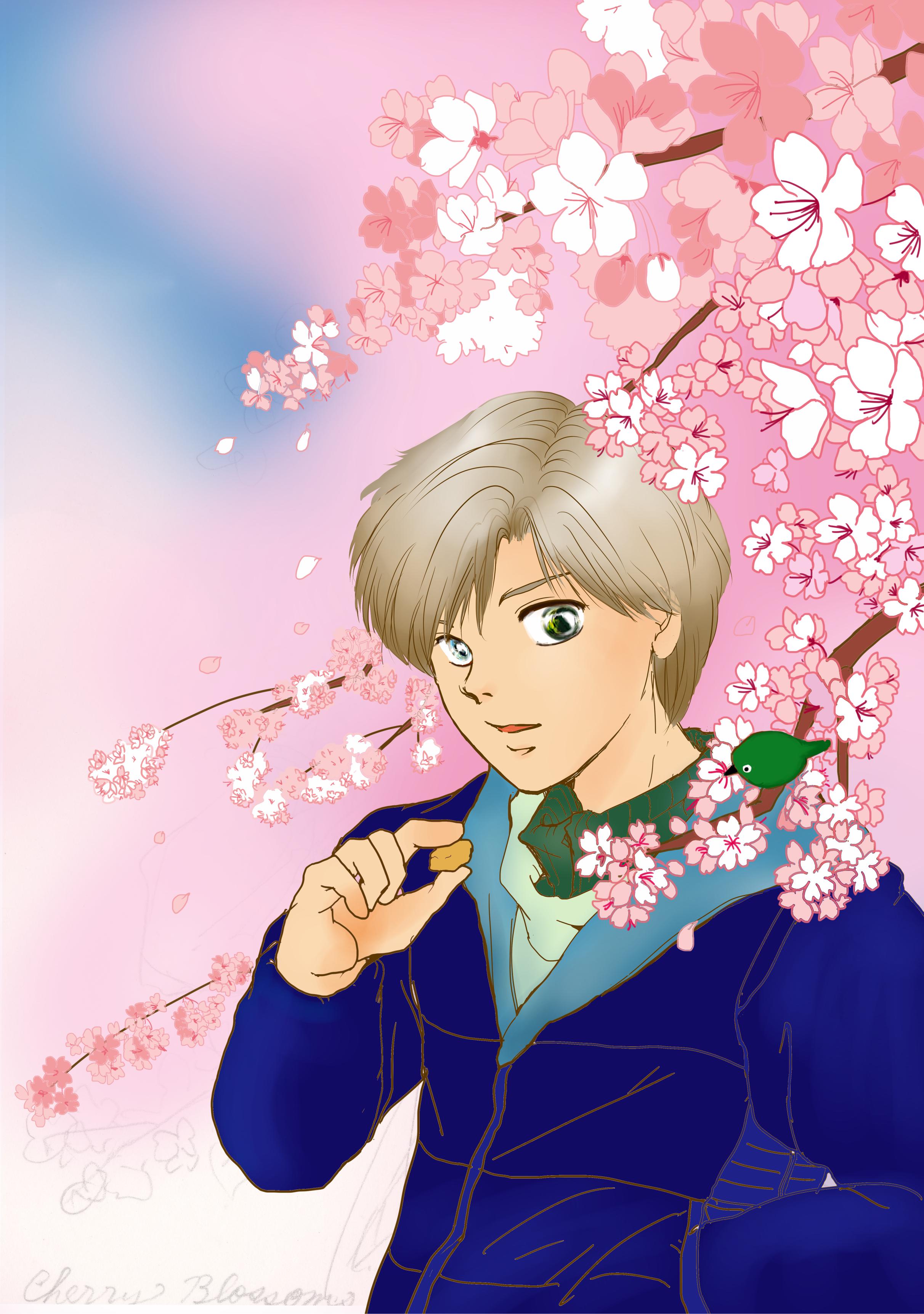 桜爛漫 チイお題