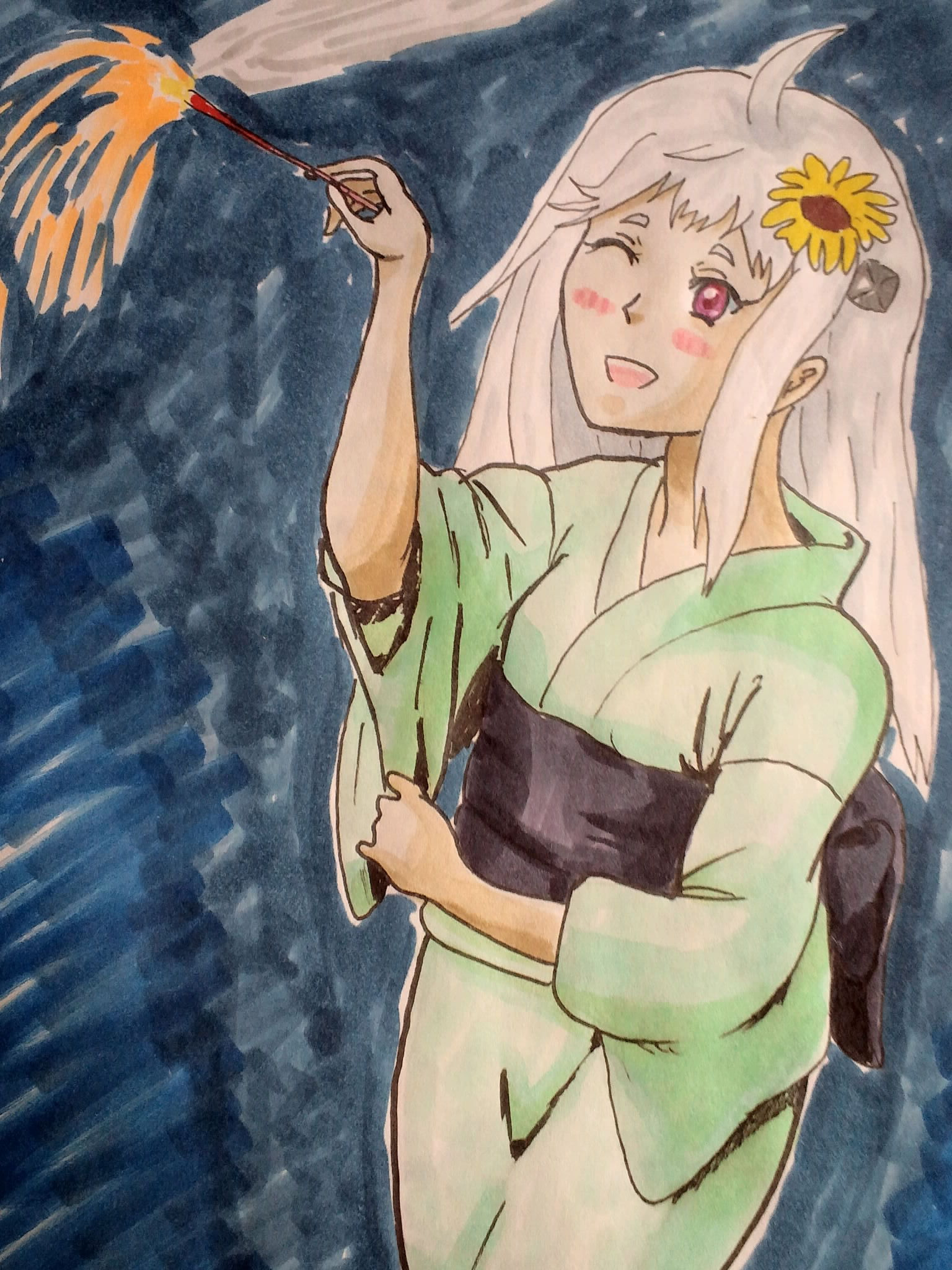 花火楽シイノ…♪