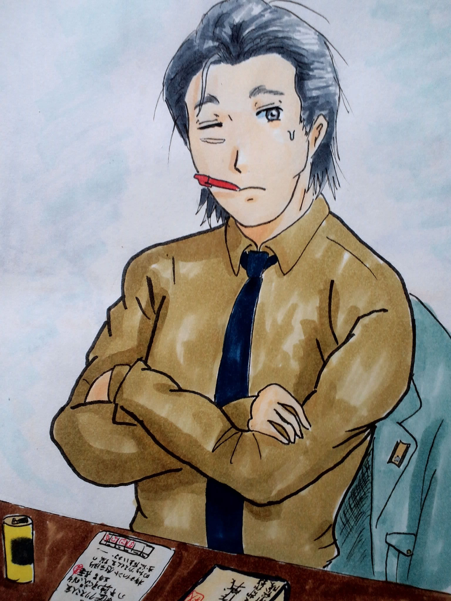 悩める長井少将