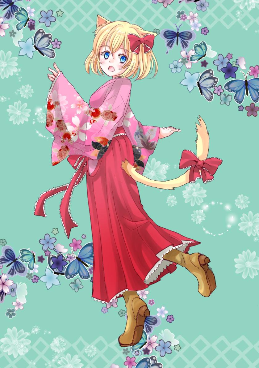 袴の少女(過去絵)