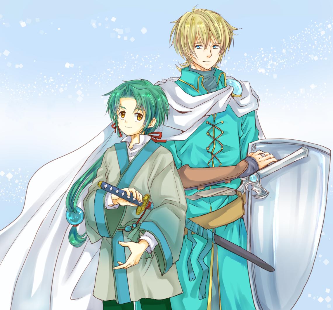 刀と剣(過去絵)
