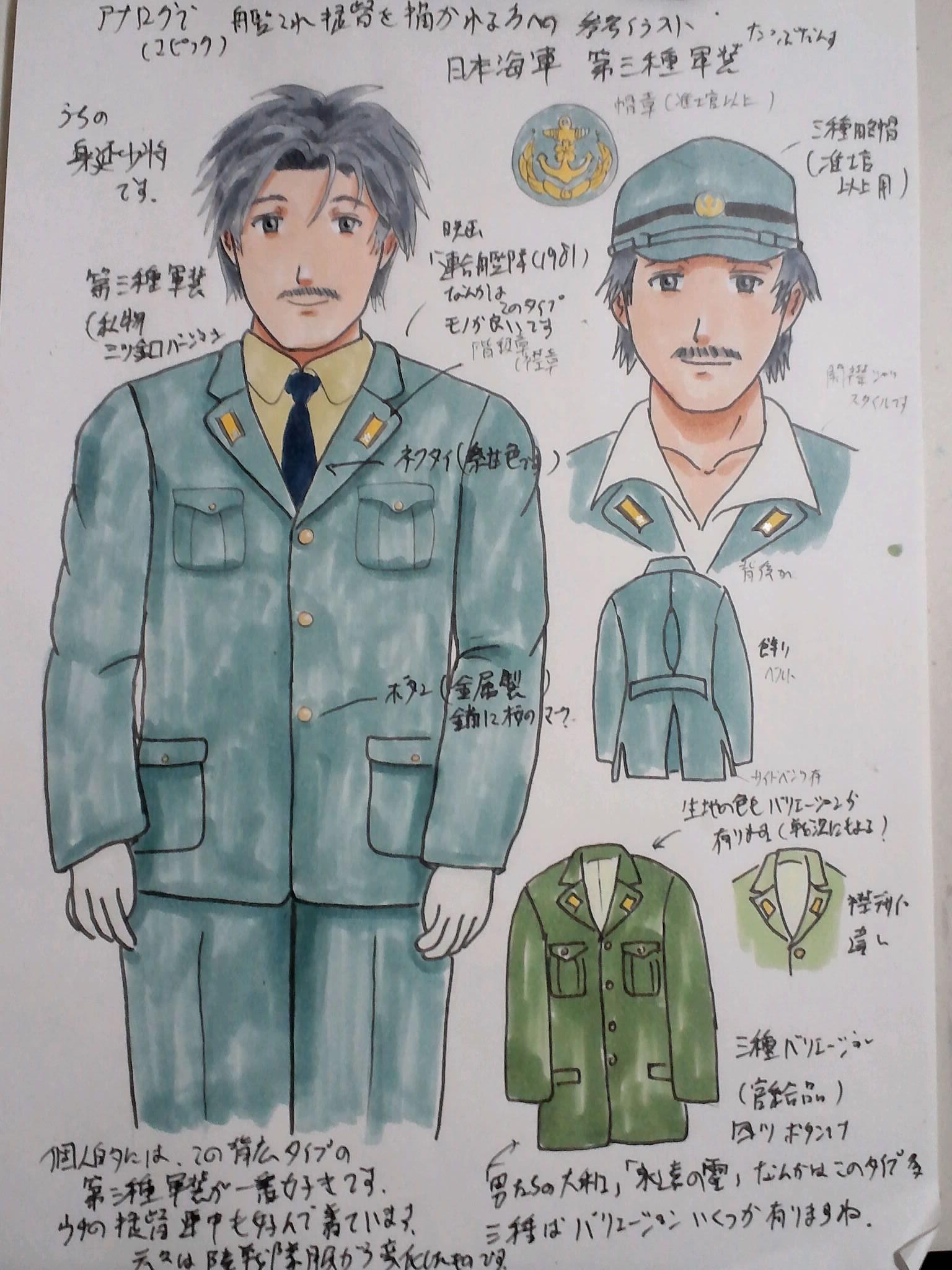 日本海軍第三種軍装