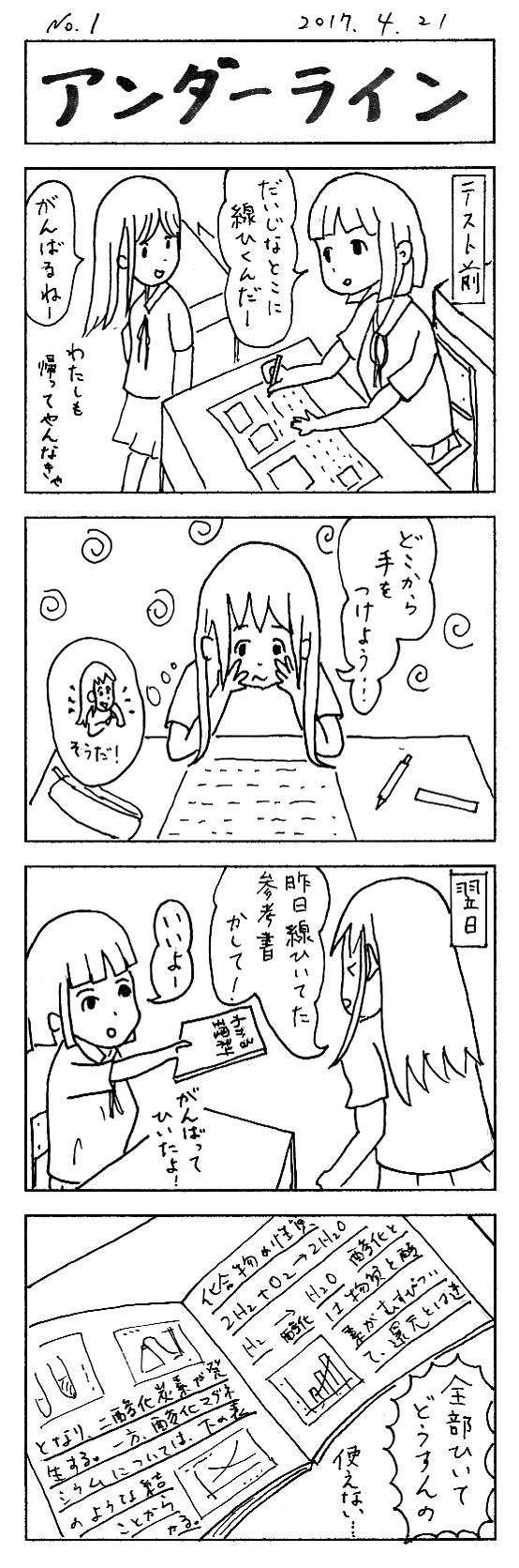 01 アンダーライン
