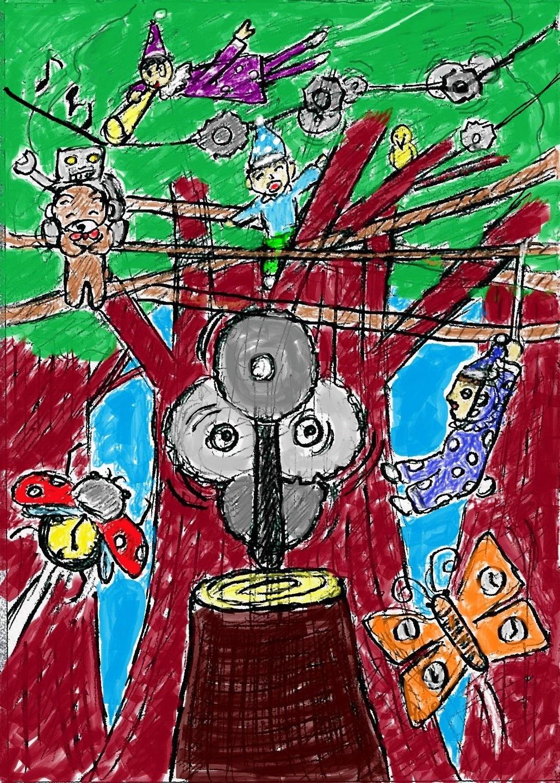 時計の歯車と機械仕掛けの森!