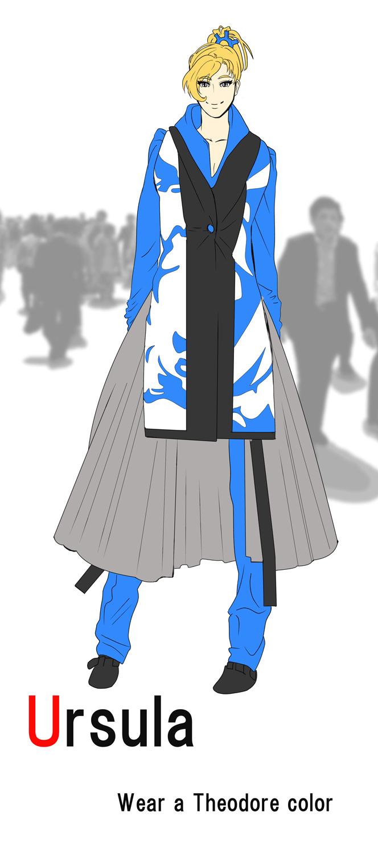 FF4TA的相棒の色を着る2
