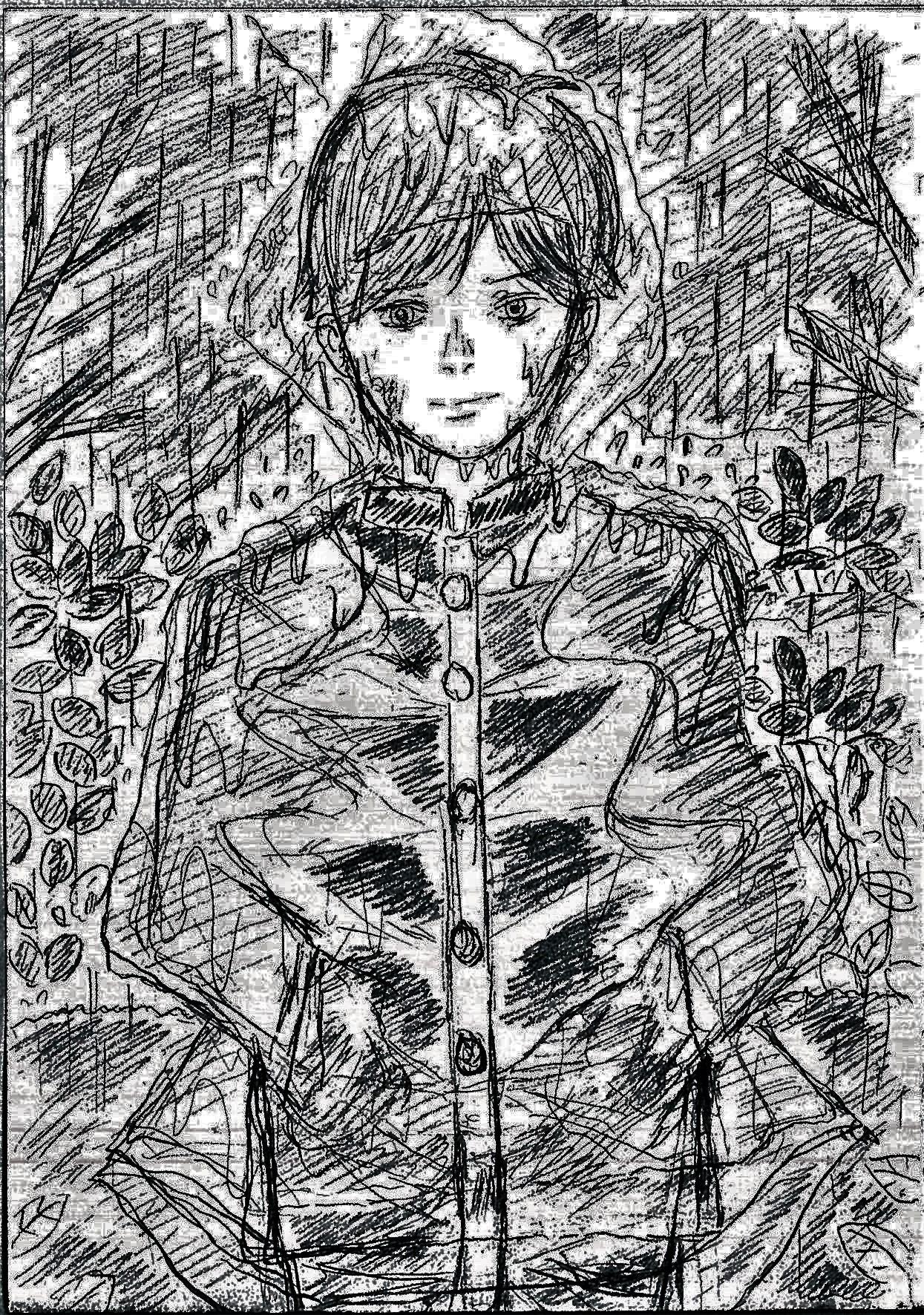梅雨空のレインコート!