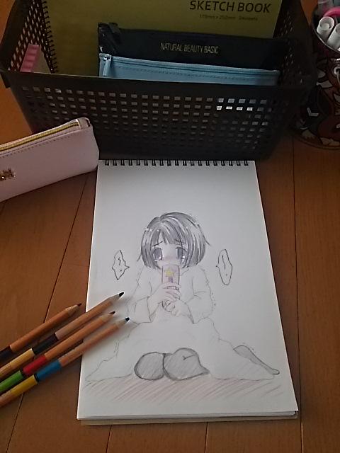 お絵描き♪