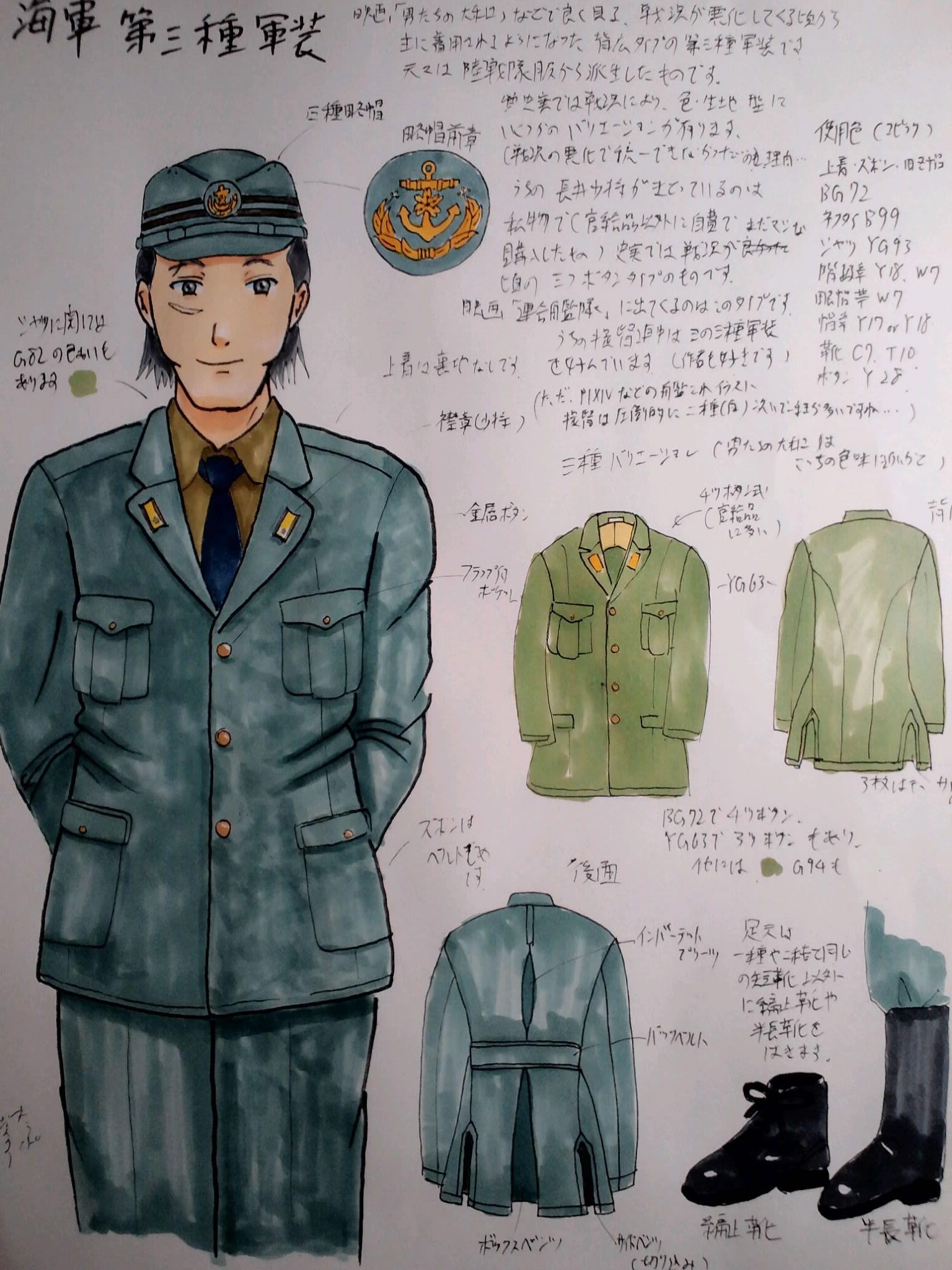 海軍第三種軍装