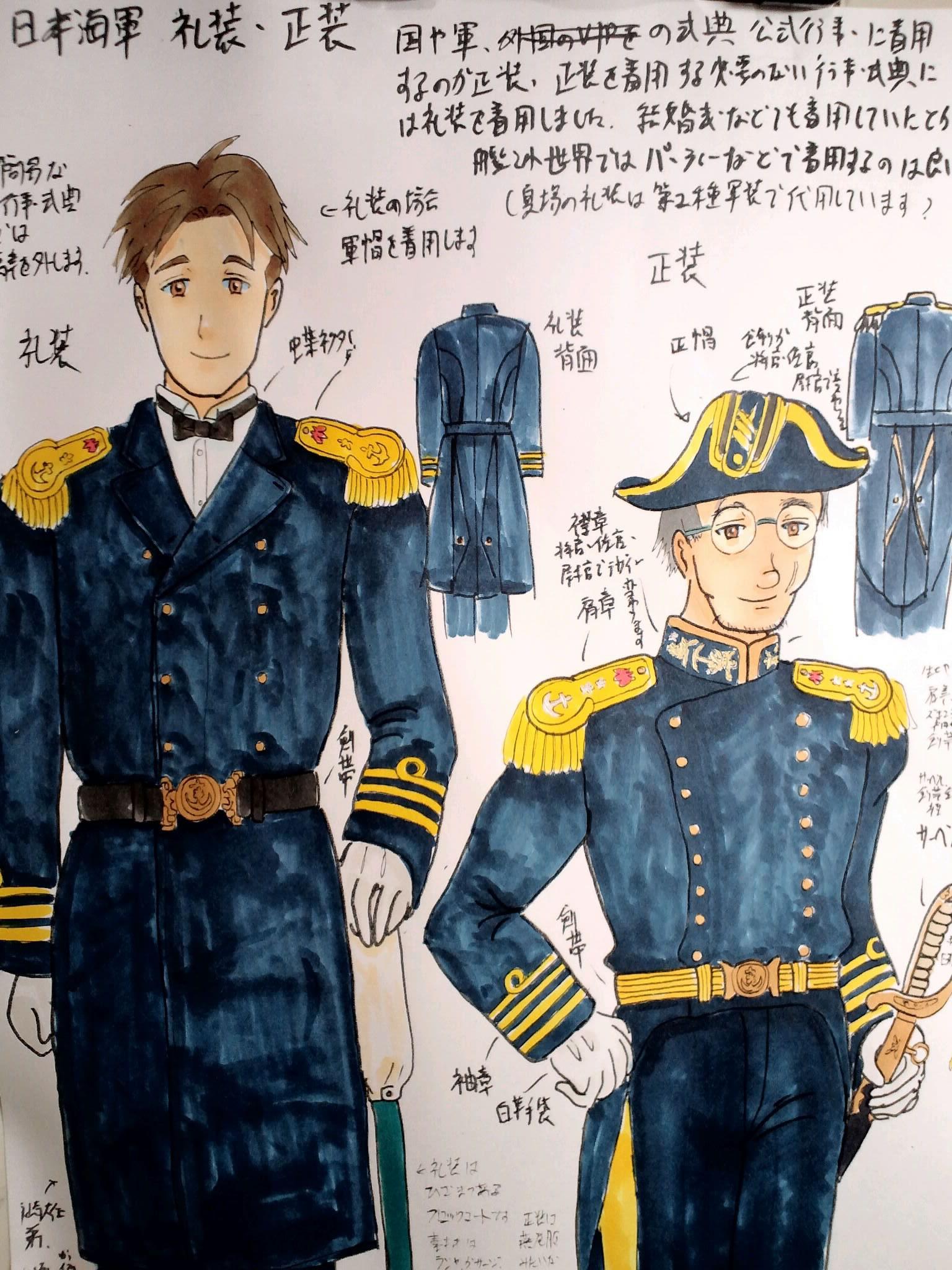 日本海軍正装礼装