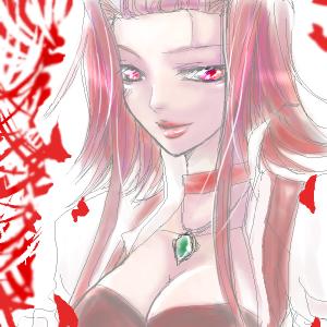 黒薔薇の魔女。