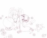 『お絵描きっこ』用WIMミク線画