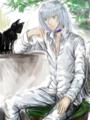 猫と・・・・