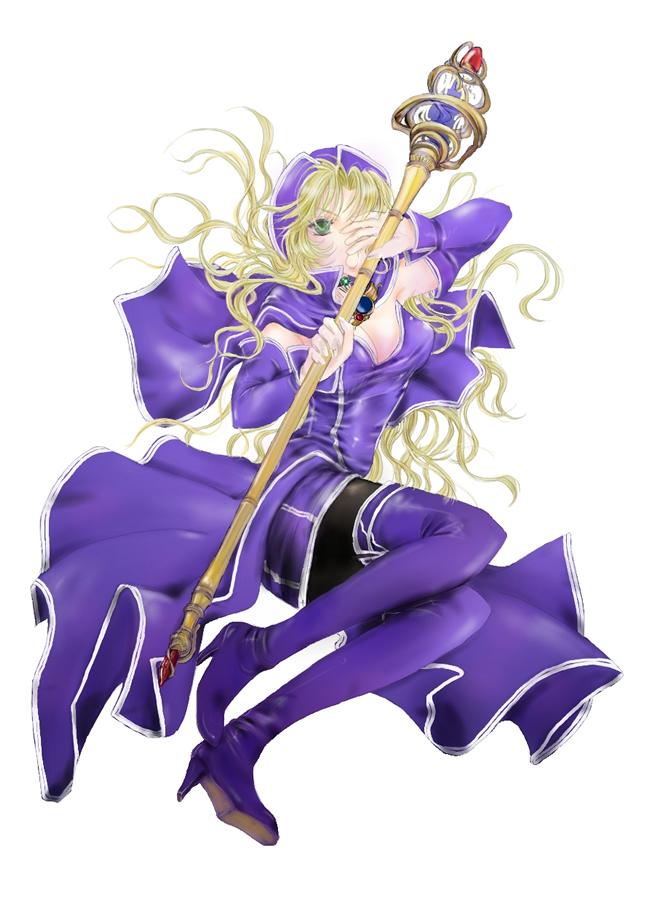 菫青の占術師