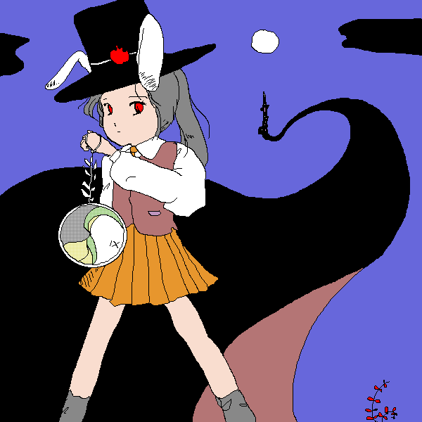習作:ウサギ