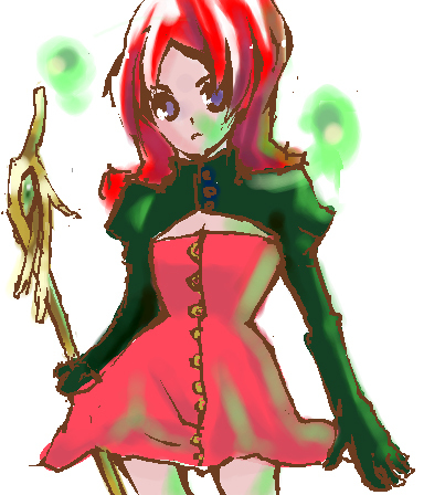 オリジ 魔法少女っぽい