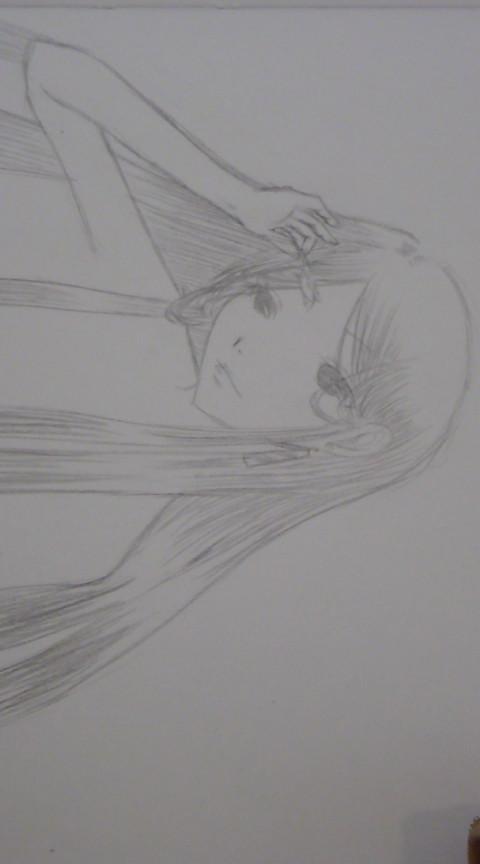 長髪の女の子