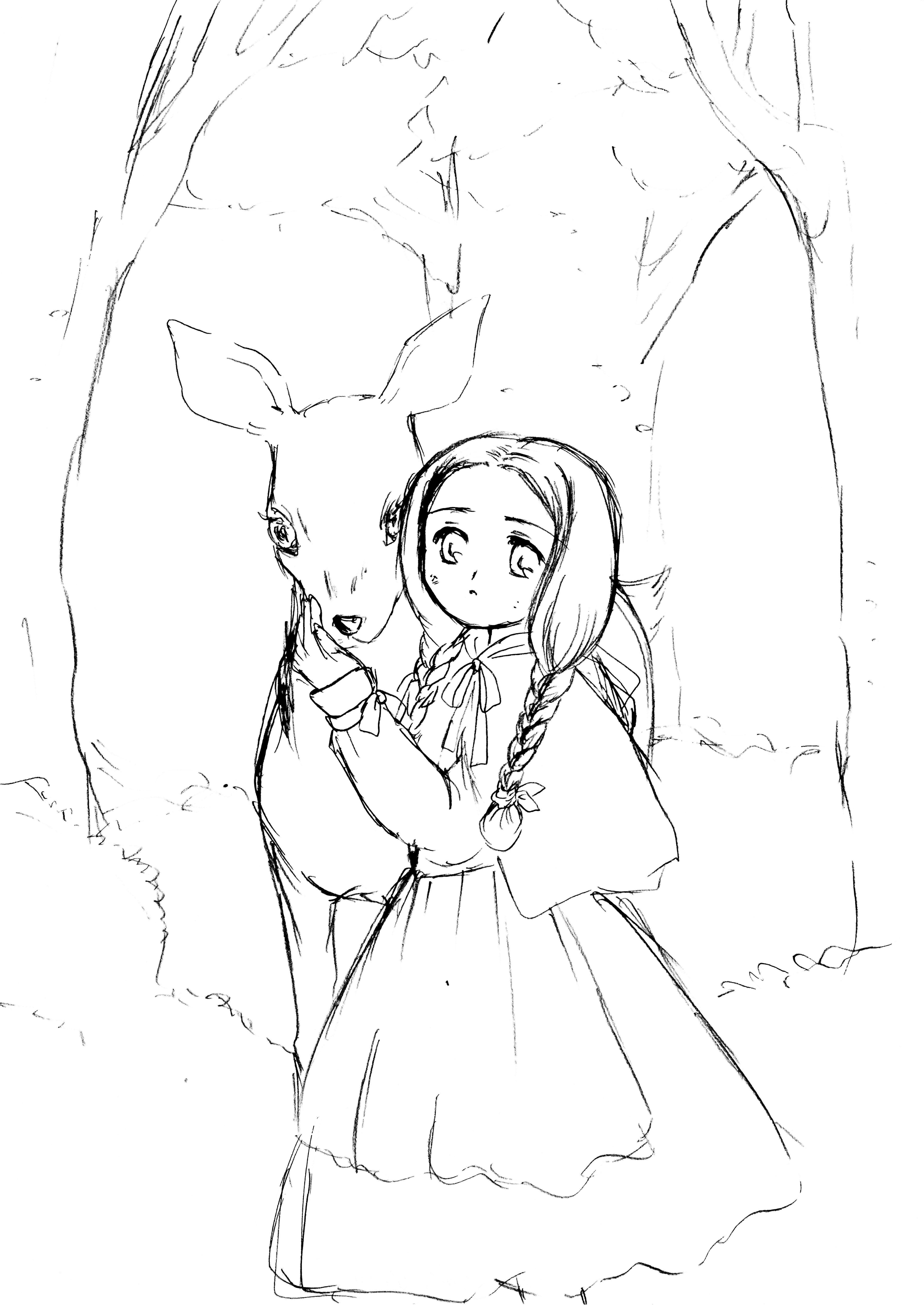 002:グリム童話・しゃべる泉