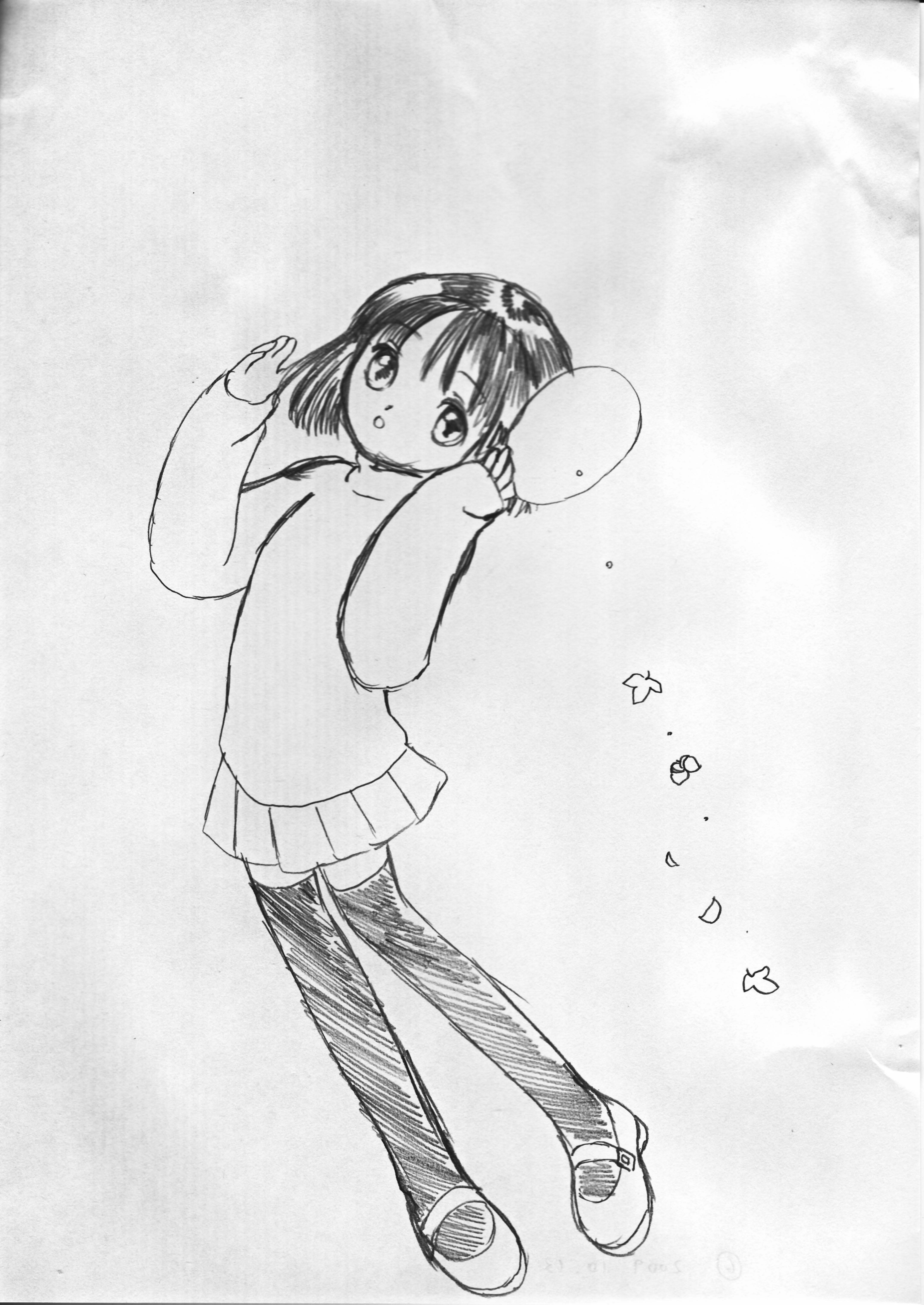 006:おかっぱの女の子