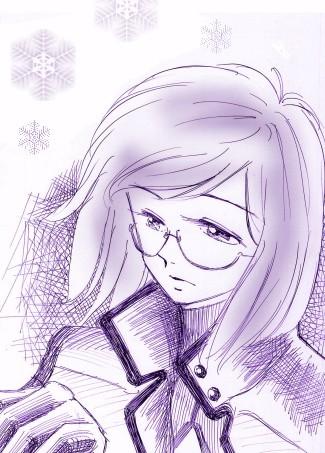 ティエリアと雪