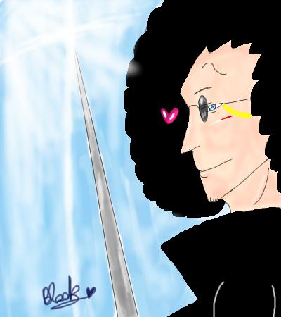 音楽家兼剣士ブルック。