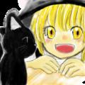 まりさと猫