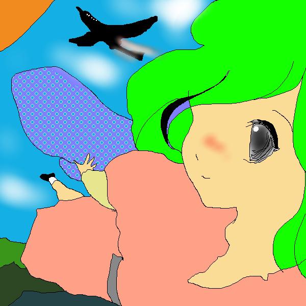 練習:高高度旅客機と妖精