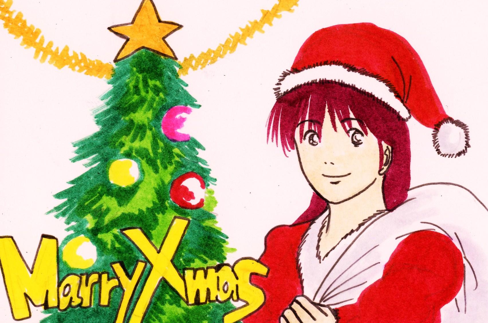 クリスマスカード09