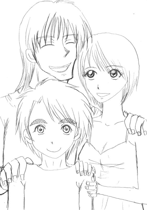 大団円(線画)