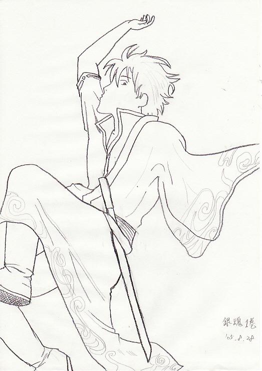 '05落書き 銀ちゃん