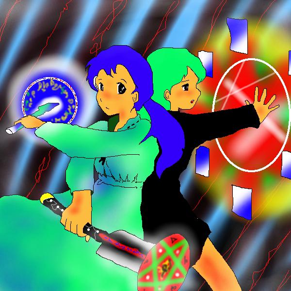 習作:戦士と魔女