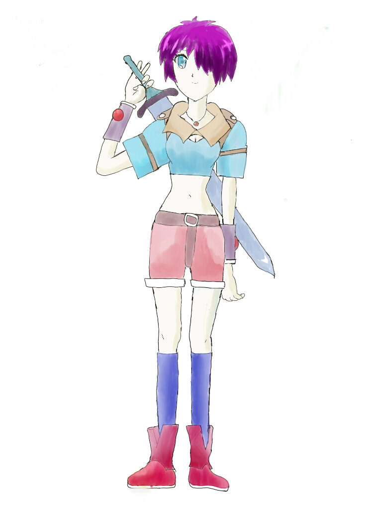 女剣士さん