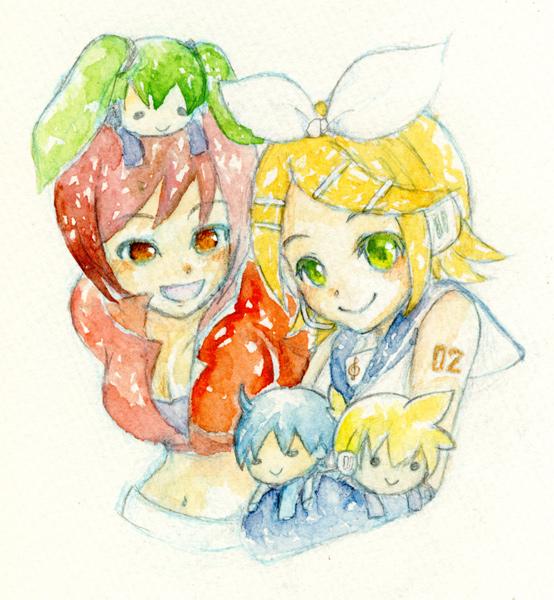 メイコとリン