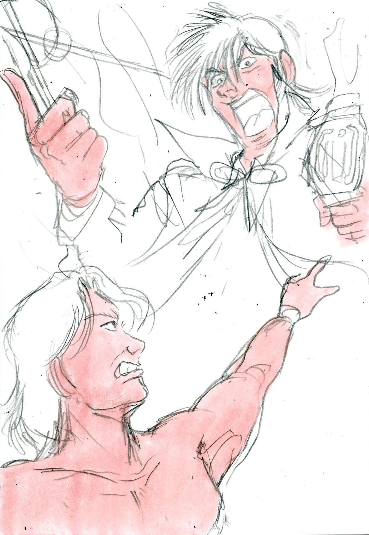 プロレス的イラスト.ジョーカー