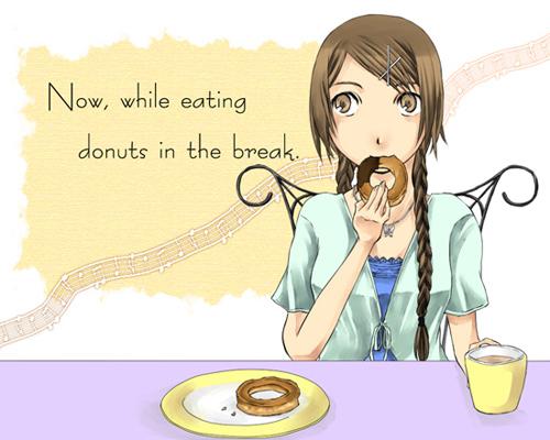 某ドーナツを描こうとして失敗し