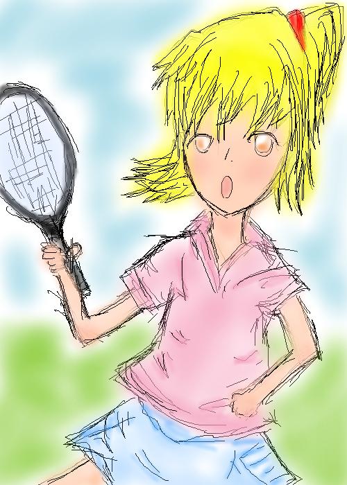 がんばれ!!テニス部!!