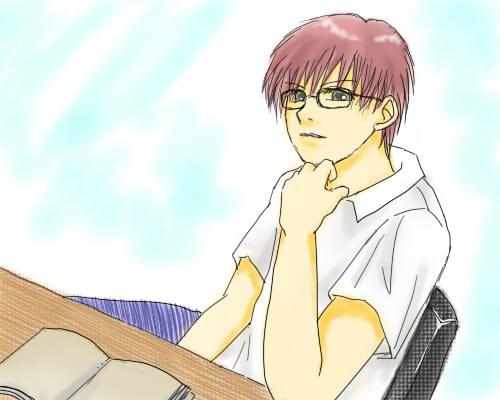 お勉強眼鏡