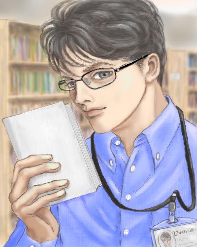インテリ眼鏡