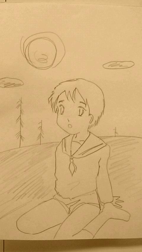 練習:鉛筆画